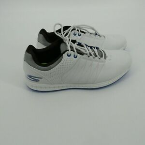 Skechers Go Golf White Pivot Spikeless Golf Shoes Size 9