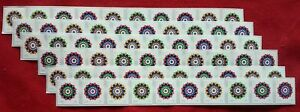 New 12 strips of 10 = 120 KALEIDOSCOPE FLOWERS 46¢ US postage stamps # 4722-4725