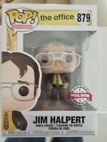 Funko Pop! The Office #879 Exclusive Box Lunch Jim Halpert as Dwight + Protector