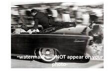 John F Kennedy Assassination Limo Secret Service PHOTO Special Agent Shields JFK
