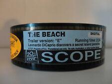 The Beach 35mm Movie Trailer Ver:E   film collectible SCOPE  2 min 24 seconds
