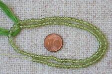 Peridot(Olivin)-Strang(Kugel 4,0 mm) Q-5714/G