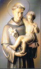 312 S. Antonio di Padova santino holycard