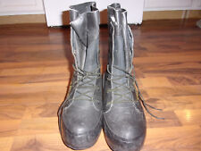 Bata Black Rubber Mickey Mouse Boots Men's US 7W Extreme Cold Military Issue