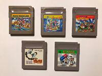 Super Mario Land 1, 2, 3, Picross, Dr Mario - Game Boy Nintendo Japan Import lot