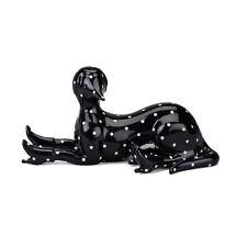 """DOWN!"" by Parra x Case Studyo Black with White Dots Porcelain Sculpture 25 ed."