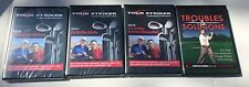 Tour Striker Golf Vol. 4-6 Gary McCord & Troubles & Solutions Mor Norman (5 DVD)