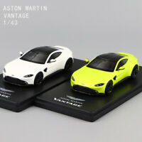 1/43 Scale Resin VANTAGE ASTON MARTIN Lime Essense &Vantage White Car Model