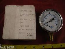 ENFM RW132A3N303KG Pressure Gauge 7111-2 1/2-1/4 0-30 psi/bar Nib New