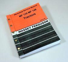 MASSEY FERGUSON MF 148 135 TRACTOR SERVICE REPAIR SHOP MANUAL WORKSHOP