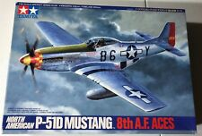 Tamiya North American P-51D Mustang 8th A.F ACES COMPLETE (BONUS RESIN PARTS)