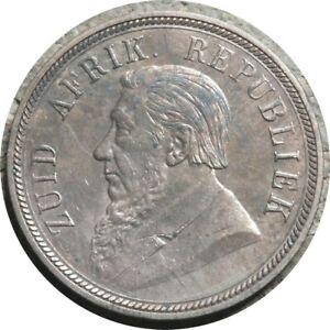 elf ZAR South Africa 1 Penny 1898    Boer Wars   891