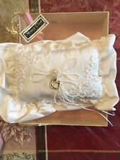 Vintage Beverly Clark Vintage Ring Bearer Pillow. Year Unknown