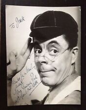 DUGGIE WAKEFIELD - ACTOR & COMEDY STAR - EXCELLENT SIGNED VINTAGE PHOTOGRAPH