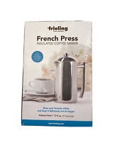 Frieling USA Double Wall Stainless Steel French Press Coffee Maker, 17 fl oz