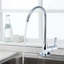 1/4'' Chrome Drink Water Filter Faucet Purifier Reverse Osmosis Sink Tap Silver