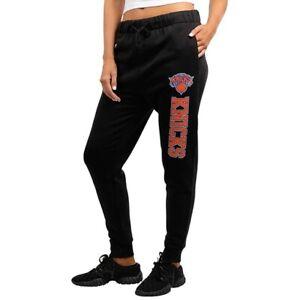UNK NBA New York Knicks Women's Black Fleece Jogger Sweat Pants NWT ~ Sz M