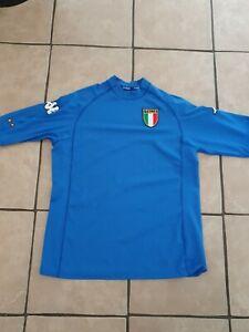 Vintage Italy Itália 2000/2001 Original Kappa Home Shirt (Size L)