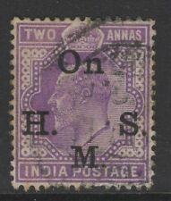 INDIA SGO59 1902 2a MAUVE USED
