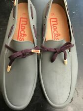 MOCKS MENS UK 10 EU 44 RUBBER CASUAL SHOES LOAFER DRIVING SHOES