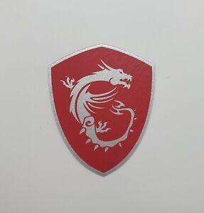PC Sticker Genuine MSI Gaming Dragon Shield PC Case Laptop Sticker Badge