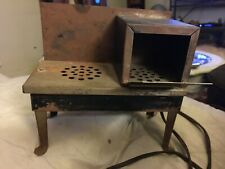 Antique Vintage 1930's Metal Childs electric Stove Oven Rusty WorKS