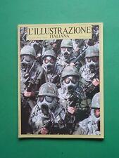 L'ILLUSTRAZIONE ITALIANA Gennaio 1986 n.26 Rambo Sylvester Stallone Sindona