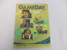 SEPT 20 1982 NEW YORK GIANTS vs GREEN BAY PACKERS GAMEDAY PROGRAM