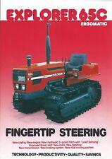 Farm Tractor Brochure - Same - Explorer 65 Ergomatic Crawler - c1986 (F6047)