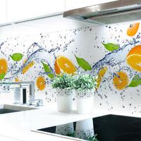 Küchenrückwand Orange Splash Premium Hart-PVC 0,4 mm selbstklebend