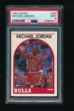 1989 Hoops #200  Michael Jordan  PSA 9 Mint Chicago Bulls