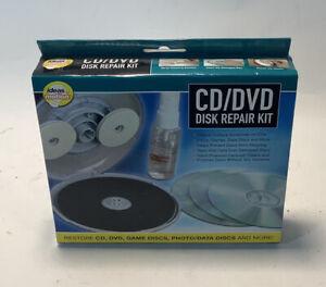 CD DVD Disk Repair Kit Ideas In Motion Open Box CD Repair