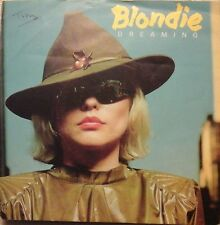 """BLONDIE - DREAMING 7"""" VINYL PICTURE SLEEVE 1970s POP EX/EX"""