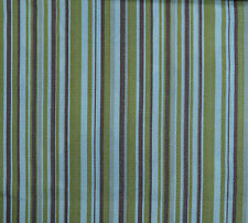 8.5 Meters Isabella stripe Curtain Fabric £12.99/Mtr - Gold
