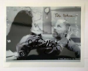 Julie T Wallace & Peter Porteous | James Bond 007 | Hand Signed Photo