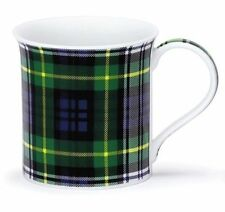 Lovely Traditional Dress Gordon Tartan Dunoon Fine Bone China Mug Bute Shape