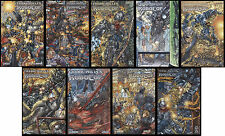 Frank Miller's Robocop comic set 1-2-3-4-5-6-7-8-9 lot Juan Jose Ryp wrap covers
