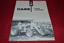 Case Tractor 291 295 Loader Dealer's Brochure YABE14