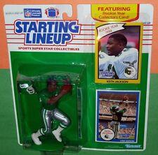1990 KEITH JACKSON Philadelphia Eagles Starting Lineup + 1988 card -FREE s/h NM+