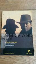 YORK NOTES FOR GCSE OF MICE AND MEN JOHN STEINBECK 2009 MINI BK KS4 QUEST/ANSWER