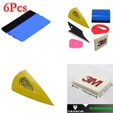 6pcs Car Sticker Wrap Tool set Tint Vinyl Film Squeegee Scraper Wiper applicator