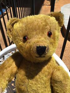 "Antique  Bear German Ginger 22"" 55 cm Gorgeous Muzzle Bear Rare"