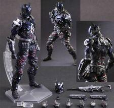 "In Stock ""Arkham Knight"" (Batman) DC Comics Play Arts Kai Action Figure No Box"