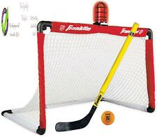 Franklin Sports Mini Hockey Goal Set - Nhl Light Up Knee Hockey Goal And Stick S