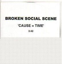 (P638) Broken Social Scene, Cause=Time - DJ CD