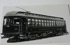 USA505 - KANSAS CITY WESTERN RAILWAY Co - TROLLEY No21 PHOTO Missouri USA