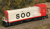 BOWSER 23762 HO Scale DS 4-4-1000 Soo Line 312 SWITCHER, DC, DCC Ready NEW