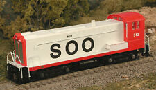 BOWSER 23762 HO Scale DS 4-4-1000 Soo Line SWITCHER DCC Ready 312 -NEW