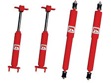 NEW! 1964-1970 Ford Mustang Gas Charged Shock shocks Front & Rear Full Set of 4
