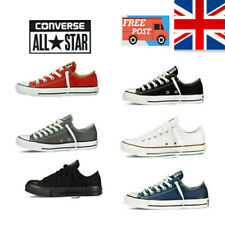 UK Converse All Star Chuck Taylor Mens Womens Lo Ox Hi Unisex Sneakers Trainers